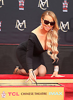 HOLLYWOOD, CA - NOVEMBER 1: Mariah Carey Hand and Foot Print Ceremony at The TCL Chinese Theatre in Hollywood, California on November 1, 2017. Credit: Faye Sadou/MediaPunch