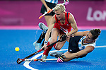 London Olympics 08/08/2012.Womens Semi Finals Great Britain v Argentina.Alex Danson...Photo: Grant Treeby