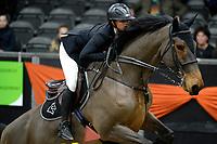 ZUIDBROEK - Paardensport, ICCH Zuidbroek, springen internationaal 1.40 klassiek, 03-01-2019, Chantal Regter met Eamelusina R57