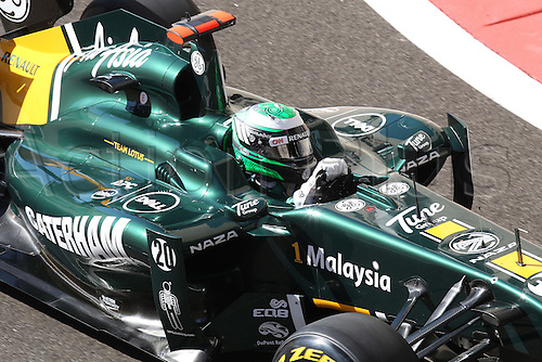 11.11.2011 Abu Dhabi, United Arab Emirates. Yas Marina Circuit, Heikki Kovalainen, Team Lotus, .., during the practice day of the FIA Formula One Grand Prix of Abu Dhabi UAE.