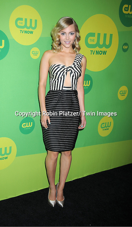 "AnnaSophia Robb of "" The Carrie Diaries"" attends the CW Network's 2013 Upfront Presentation on May 16, 2013 at the London Hotel in New York City."