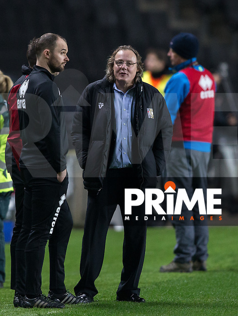 MK Dons chairman Pete Winkelman during the Sky Bet League 1 match between MK Dons and Chesterfield at stadium:mk, Milton Keynes, England on 22 November 2016. Photo by Andy Rowland.