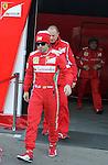 22.02.2012 Barcelona Spain. Formula One testind day2. Scuderia Ferrari with Spanish driver Fernando Alonso