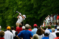 Golfer David Toms works the course during the Quail Hollow Championship golf tournament 2009. The event, formerly called the Wachovia Championship, is a top event on the PGA Tour, attracting such popular golf icons as Tiger Woods, Vijay Singh and Bubba Watson. Photo from the second round in the Quail Hollow Championship golf tournament at the Quail Hollow Club in Charlotte, N.C., Friday, May 01, 2009..