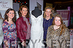 Cliona O'Connor Tralee, Liz Horgan, Mags Horgan Listowel and Labhaoise O'Connor Tralee  at the Kerry Wedding show in the INEC  on Sunday