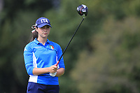 Alessia Nobilio (Italy) during final day of the World Amateur Team Championships 2018, Carton House, Kildare, Ireland. 01/09/2018.<br /> Picture Fran Caffrey / Golffile.ie<br /> <br /> All photo usage must carry mandatory copyright credit (© Golffile | Fran Caffrey)