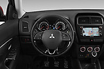 Car pictures of steering wheel view of a 2019 Mitsubishi ASX Instyle 5 Door SUV Steering Wheel