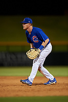 AZL Cubs 1 first baseman Ryan Reynolds (17) during an Arizona League game against the AZL Giants Orange on July 10, 2019 at Sloan Park in Mesa, Arizona. The AZL Giants Orange defeated the AZL Cubs 1 13-8. (Zachary Lucy/Four Seam Images)