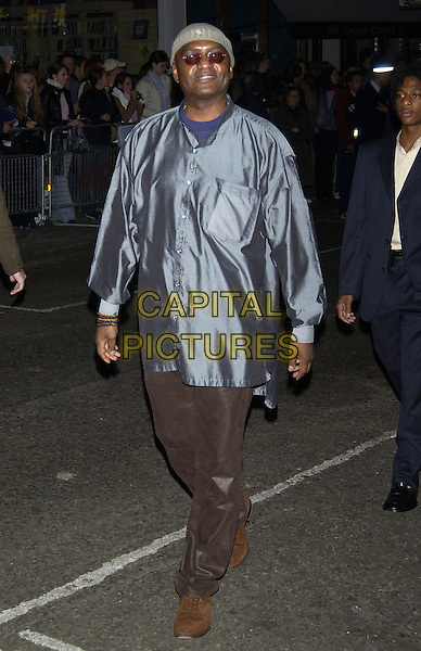 "GEORGE HARRIS.""Layer Cake"" world film premiere at.Electric Cinema, Portabello Road, Notting Hill.London 23 September 2004..full length.Ref: PL.www.capitalpictures.com.sales@capitalpictures.com.©Capital Pictures."