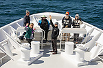 Stuart, Sherry, Cindy, David, Kurt & Kathy, On Way From Tierra Del Fuego Towards The Falkland Islands