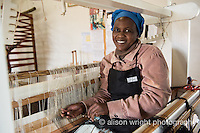 Africa, Swaziland, Malkerns.Nest organization artisan project, partnering with Rosecraft weaving  & local artisans to help market their products to global markets and better sustain their local community.