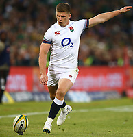 Owen Farrell (captain) of England during the 2018 Castle Lager Incoming Series 2nd Test match between South Africa and England at the Toyota Stadium.Bloemfontein,South Africa. 16,06,2018 Photo by Steve Haag / stevehaagsports.com