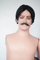 Manequins from Oscar's uniforms on Av. Insurgentes, Mexico City.  Mexico