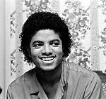 Michael Jackson 1981 at his Encino home..© Chris Walter.