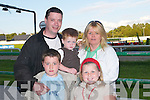 A NIGHT OUT: A night out at the dogs at Kingdom Greyhound Stadium, Tralee, on Friday for Ted O'Mahony, Ciaran O'Mahony, Chelsey Conway, Caden O'Mahony and Anne Conway..
