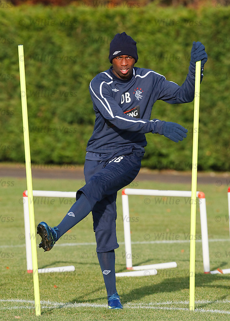 DaMarcus Beasley training at Murray Park