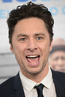 www.acepixs.com<br /> March 30, 2017  New York City<br /> <br /> Zach Braff attending the 'Going In Style' New York Premiere at SVA Theatre on March 30, 2017 in New York City.<br /> <br /> Credit: Kristin Callahan/ACE Pictures<br /> <br /> <br /> Tel: 646 769 0430<br /> Email: info@acepixs.com
