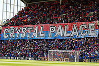 Crystal Palace fans adorn the Holmesdale during the EPL - Premier League match between Crystal Palace and West Bromwich Albion at Selhurst Park, London, England on 13 May 2018. Photo by Carlton Myrie / PRiME Media Images.