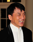 Jackie Chan arrives for the State Dinner in honor of President Hu Jintao of China at the White House In Washington, D.C. on Wednesday, January 19, 2011. .Credit: Ron Sachs / CNP.(RESTRICTION: NO New York or New Jersey Newspapers or newspapers within a 75 mile radius of New York City)