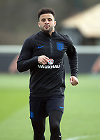 Kyle Walker of England during the England National Team Training ahead of the international friendly match with Italy at Tottenham Hotspur Training Ground, Hotspur Way, England on 26 March 2018. Photo by Vince  Mignott.