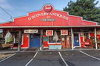 Discovery Antiques and Ice Cream shop in Kealakekua, Big Island.