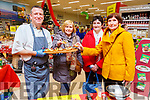 Enjoying the cookery demonstration by Chef Mark Doe at the Garveys Christmas Food Fair in Castleisland on Tuesday night.<br /> L-r, Chef Mark Doe, Sheila Lyons, Kathleen Murphy and Eileen Forde from Scaraglin.