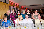 Valentines Dinner: Attending the Valentines sinner in aid of theDestination  Ballybunion at the Golf Hotel, Ballybunion oon Friday night last were in front Joan McElligott, Maggie Hayes, Sean Kennelly & Tim Halpin. Back: Nora Stack, Eileen Lynch, Anne Marie Tydings, Bridie Chute, Doreen Farrell & Christine Halpin.