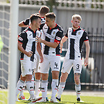 04.08.18 St Mirren v Dundee: Danny Mullen takes the acclaim for his second goal