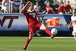 15 November 2009: NC State's Tyler Lassiter. The University of Virginia Cavaliers defeated the North Carolina State University Wolfpack at WakeMed Stadium in Cary, North Carolina in the Atlantic Coast Conference Men's Soccer Tournament Championship game.