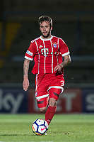 Angelo Mayer of Bayern Munich II during the Premier League International Cup match between Reading U23 and Bayern Munich II at the Adams Park, Wycombe, England on 8 December 2017. Photo by Andy Rowland.