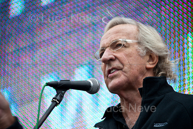 John Pilger, journalist - London 2011 <br />