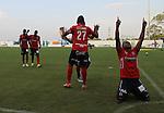 Jaguares perdió puntos en casa tras caer en el estadio municipal de Montería, 1-2 ante Independiente Medellín, por la fecha 4 del Clausura 2015.