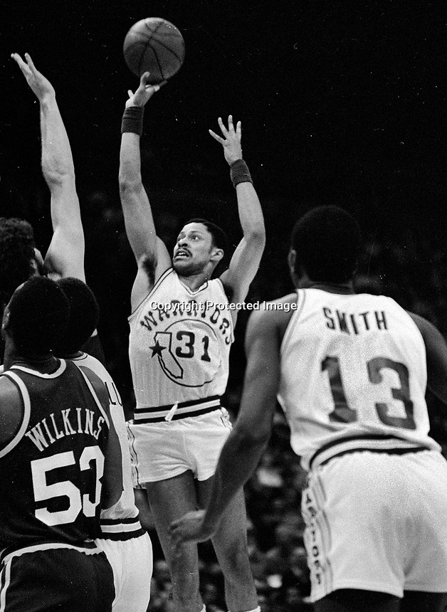Golden State Warriors #31 \Billy Reid.(1982 photo/Ron Riesterer)