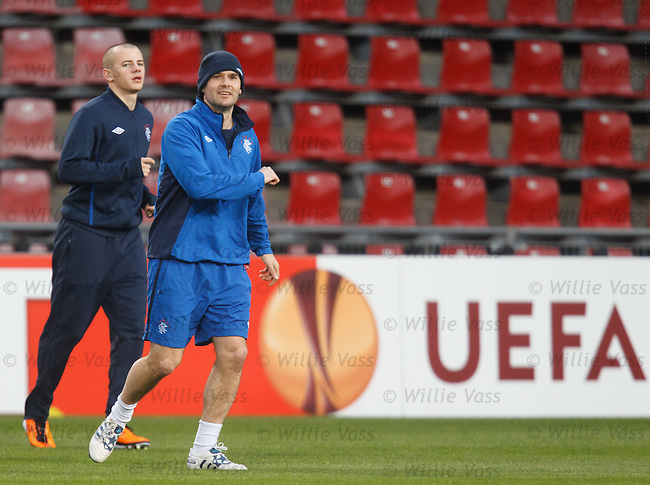 David Healy and Vladimir Weiss