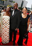 LOS ANGELES, CA. - September 13: Actor Glynn Turman and family arrive at the 60th Primetime Creative Arts Emmy Awards held at Nokia Theatre on September 13, 2008 in Los Angeles, California.