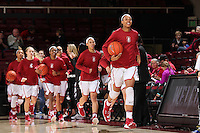 Stanford, CA - December 28, 2016: Stanford defeats Yale 102-44 at Maples Pavilion.  It was the first time since March 2011 that Stanford scored more than 100 points.