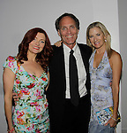 Anne Sayre poses with Christopher Goutman (Search for Tomorrow, Edge of Night and producer and director AMC, GL, ATWT, A/W) and wife Marcia McCabe (Search for Tomorrow, OLTL, A/W, ATWT) attend the 70th Annual Theatre World Awards on June 2, 2014 at Circle in the Square, New York City, New York (Photo by Sue Coflin/Max Photos)