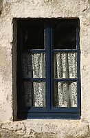 Europe/France/Bretagne/29/Finistère/Ile d'Ouessant: Ecomusée de NIOU: maison des techniques ouessantines, détails fenêtre