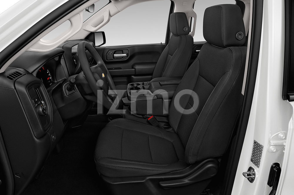 Front seat view of 2020 Chevrolet Silverado-1500 WT 4 Door Pick-up Front Seat  car photos