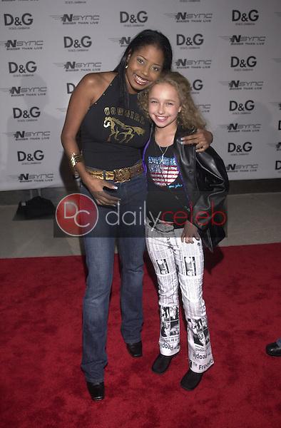 Shar Jackson and Hayden Panettiere