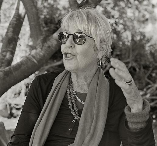 Joanne Kyger, 2010.  Poet.