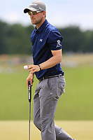 Bernd Wiesberger (AUT) sinks his birdie putt on the 8th green during Saturday's Round 3 of the 117th U.S. Open Championship 2017 held at Erin Hills, Erin, Wisconsin, USA. 17th June 2017.<br /> Picture: Eoin Clarke | Golffile<br /> <br /> <br /> All photos usage must carry mandatory copyright credit (&copy; Golffile | Eoin Clarke)