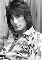 Ronnie Wood. 1973.  Credit: Ian Dickson/MediaPunch
