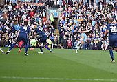 02/05/16 Sky Bet League Championship  Burnley v QPR<br /> Sam Vokes shoots wide