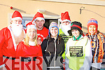 Running in the Jingle 10 km run in aid of the Irish Council for the Blind in Killorglin on Saturday was l-r: Denny, Aine, Chris Fitzgerald, Finoula Cassidy, Jerome Griffin, Lisa Fitzgerald and Mairead Boyle t       Copyright Kerry's Eye 2008