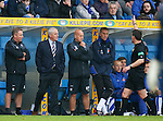 Walter Smith sent to the stand by ref Steve Conroy