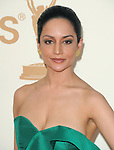 Archie Panjabi at The 63rd Anual Primetime Emmy Awards held at Nokia Theatre L.A. Live in Los Angeles, California on September  18,2011                                                                   Copyright 2011Debbie VanStory / iPhotoLive.com