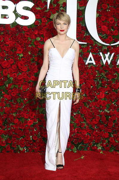 NEW YORK, NY-June 12: Michelle Williams  at the 70th Annual Tony Awards at the Beacon Theatre in New York. NY June 12, 2016. <br /> CAP/MPI/RW<br /> &copy;RW/MPI/Capital Pictures