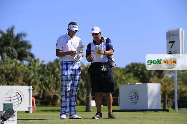 Ian Poulter (ENG) during the 1st round at the WGC Cadillac Championship, Blue Monster, Trump National Doral, Doral, Florida, USA<br /> Picture: Fran Caffrey / Golffile
