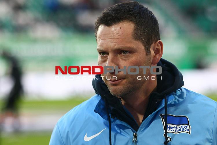 22.02.2015, Volkswagen Arena, Wolfsburg, GER, 1.FBL, VfL Wolfsburg vs Hertha BSC, im Bild Pal Dardai(Trainer Hertha)<br /> <br /> Foto &copy; nordphoto / Schrader